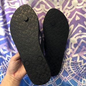 Coach Shoes - BRAND NEW coach flip flops